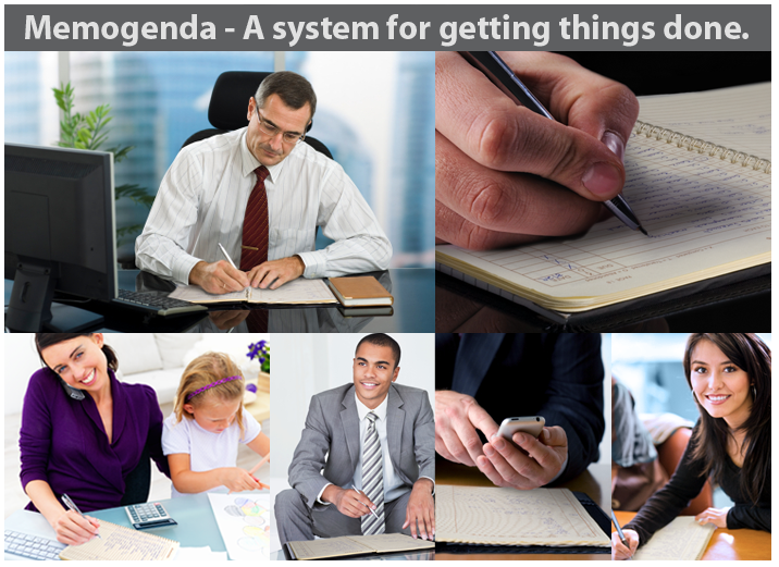 Memogenda - A system for getting things done.
